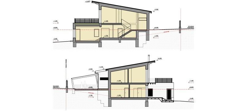 3linea Architekti Košice Rodinný Dom Hodkovce